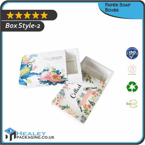Custom Paper Soap Box