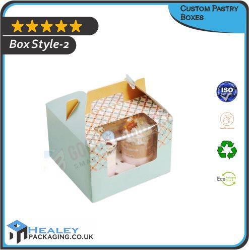 Custom Printed Pastry Box