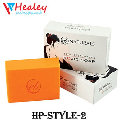 Custom Printed Soap Box