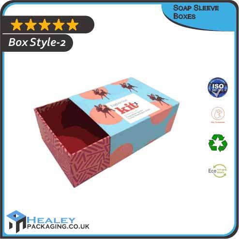 Custom Soap Sleeve Box