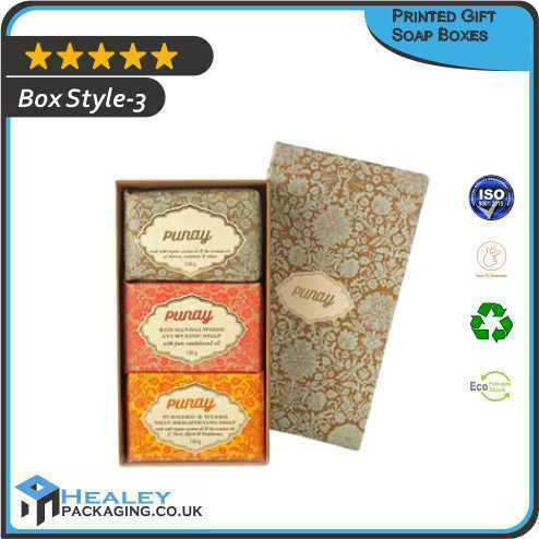 Gift Soap Packaging Boxes
