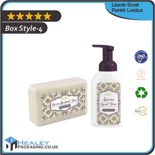 Liquid Soap Paper Labels