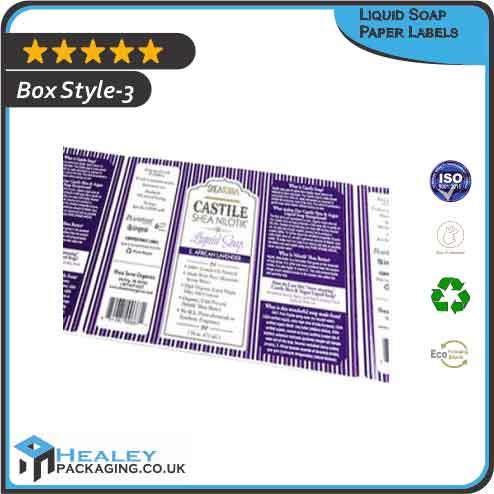 Liquid Soap Paper Labels Wholesale