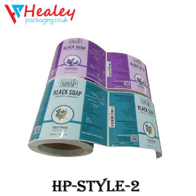 Liquid Soap Paper Labels