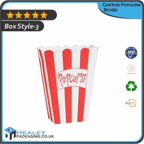 Prinited Popcorn Boxes