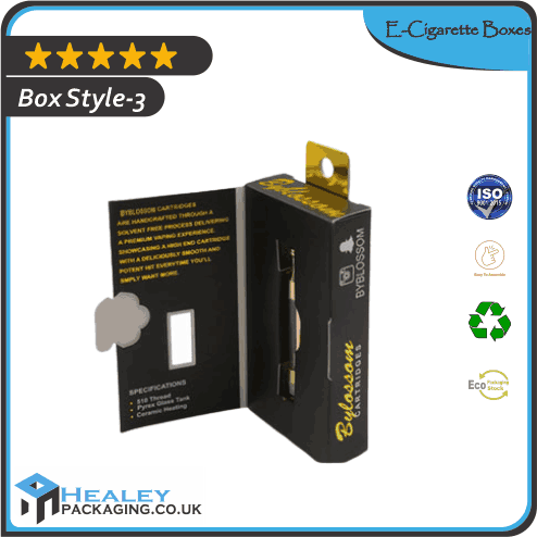 Printed E-Cigarette Boxes
