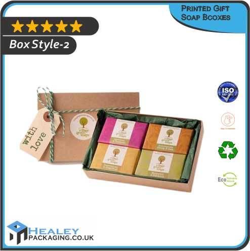 Printed Gift Soap Box