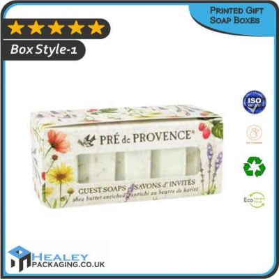 Printed Gift Soap Packaging Boxes