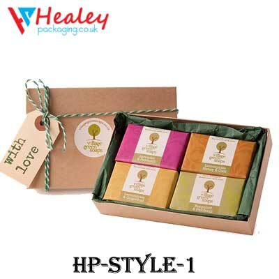 Printed Gift Soap Boxes