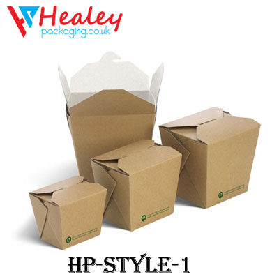 Printed Noodle Boxes