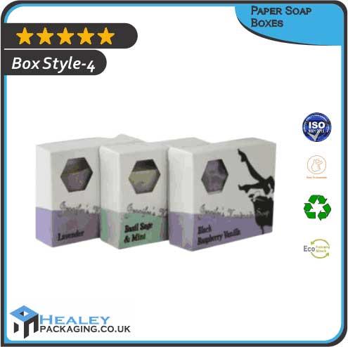 Printed Paper Soap Box