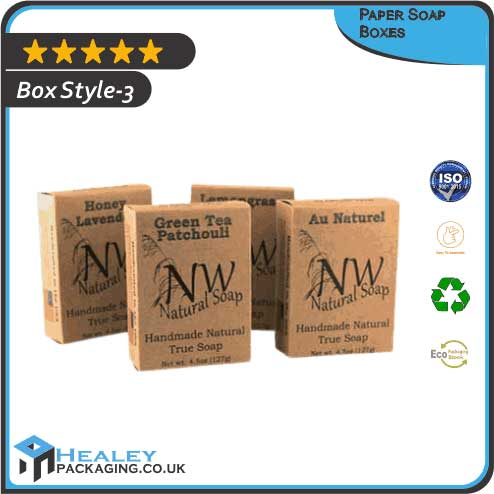 Printed Paper Soap Boxes