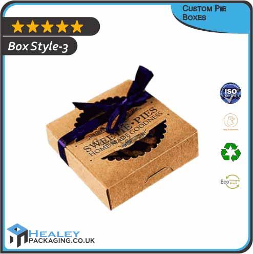 Printed Pie Boxes