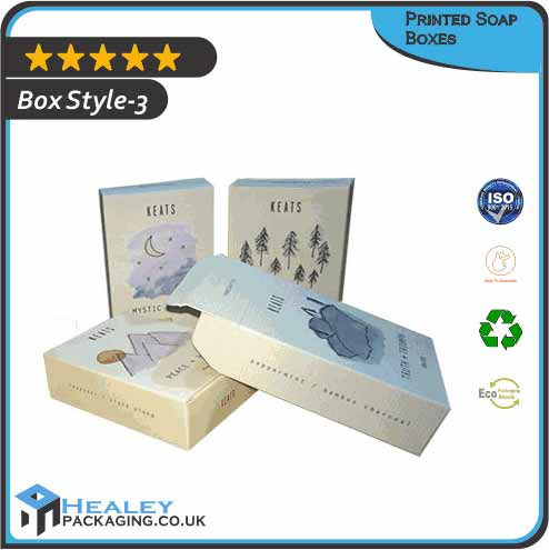 Printed Soap Packaging Boxes