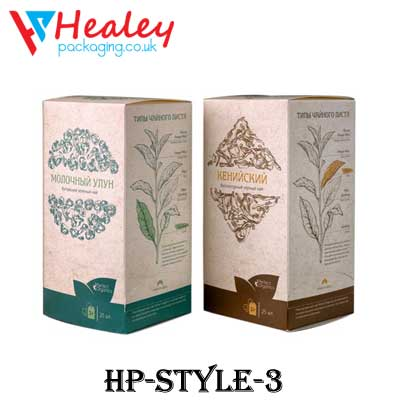 Printed Tea Boxes