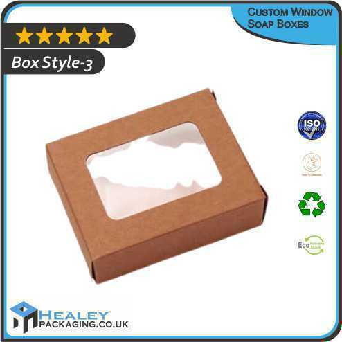 custom soap boxes with window