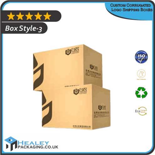 Corrugated Logo Shipping Box