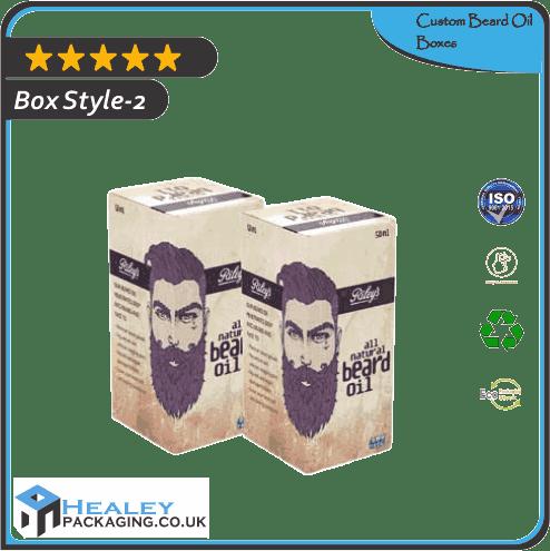Custom Beard Oil Box