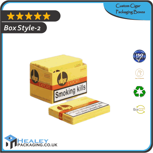 Custom Cigar Packaging Box