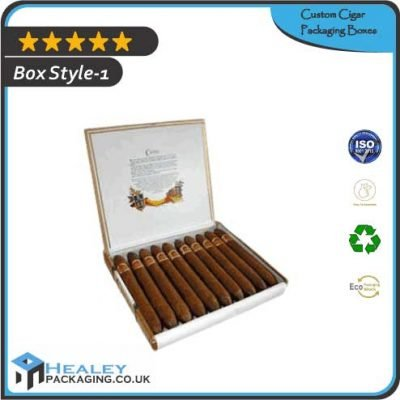 Custom Cigar Packaging Boxes