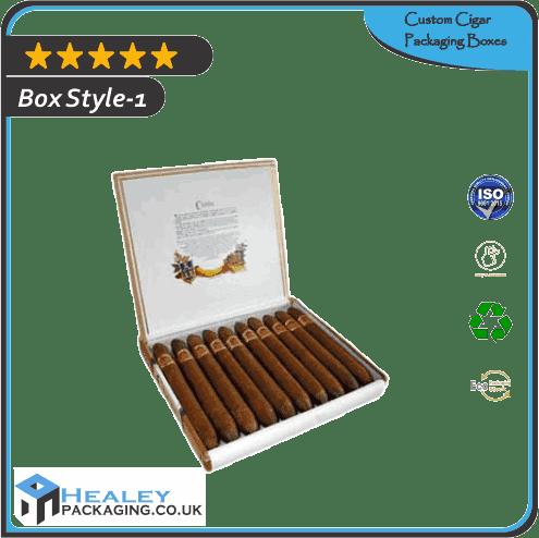 Custom Cigar Packaging Boxes