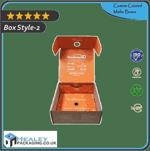 Custom Colored Mailer Box