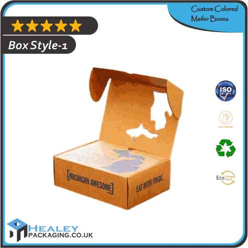Custom Colored Mailer Boxes