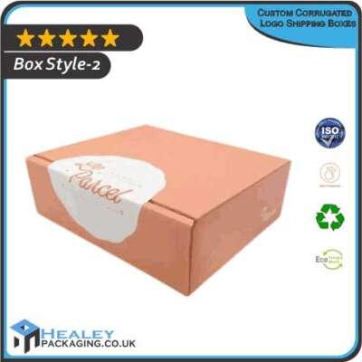 Custom Corrugated Logo Shipping Box