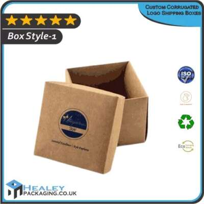 Custom Corrugated Logo Shipping Boxes