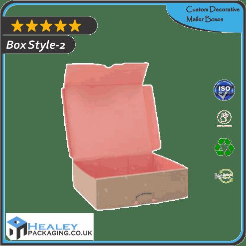 Custom Decorative Mailer Box