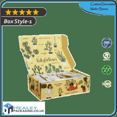 Custom Decorative Mailer Boxes