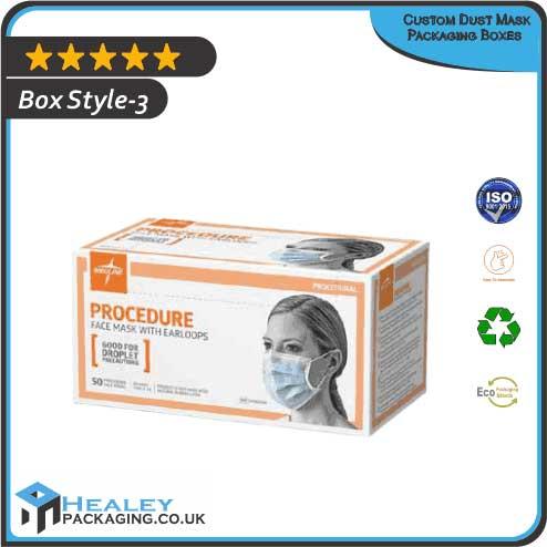 Custom Dust Mask Packaging