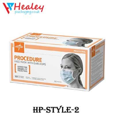 Custom Dust Mask Packaging Box