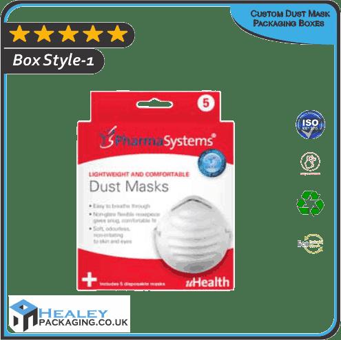 Custom Dust Mask Packaging Boxes