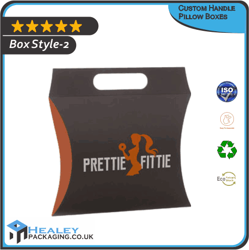 Custom Handle Pillow Box