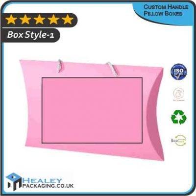 Custom Handle Pillow Boxes
