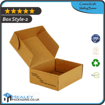Custom Kraft Mailing Box