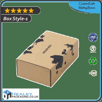 Custom Kraft Mailing Boxes