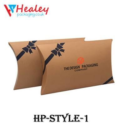 Custom Kraft aper Pillow Boxes