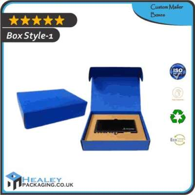 Custom Mailer Boxes Packaging Wholesale