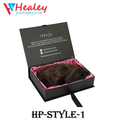 Custom Pillow Hair Extension Boxes