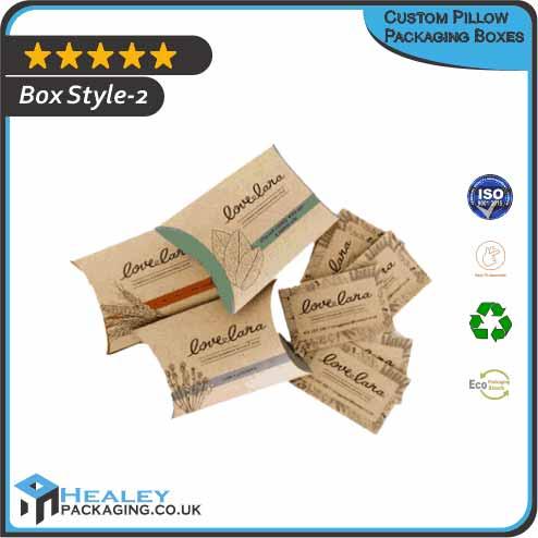 Custom Pillow Packaging Box