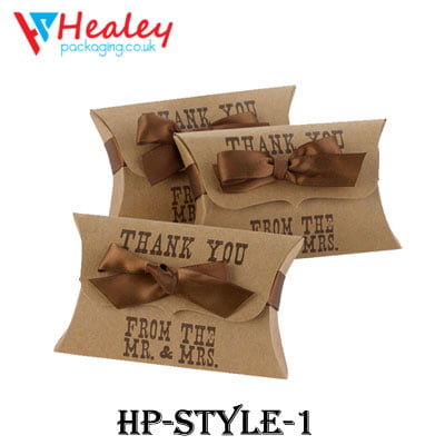 Custom Pillow Packaging Boxes