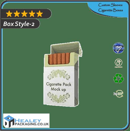 Custom Sleeves Cigarette Box