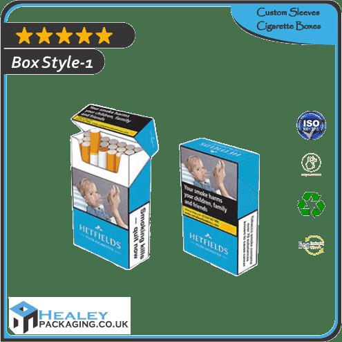 Custom Sleeves Cigarette Boxes