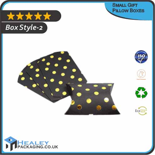 Custom Small Gift Pillow Box
