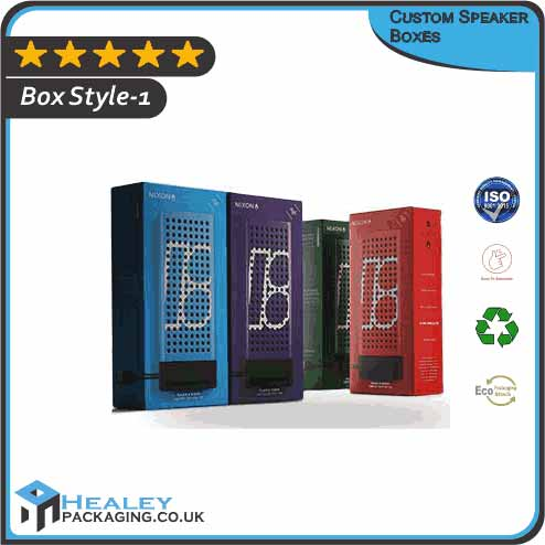 Custom Speaker Packaging Boxes