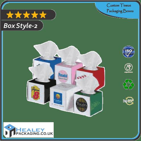Custom Tissue Packaging Box