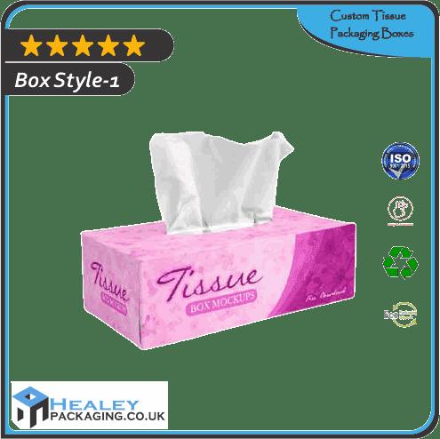 Custom Tissue Packaging Boxes