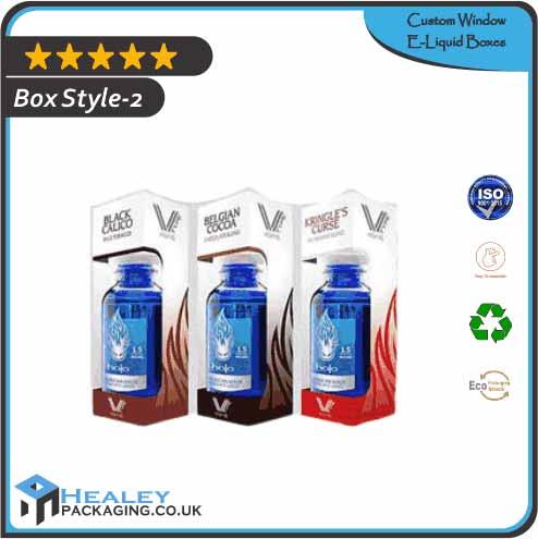 Custom Window E-Liquid Box